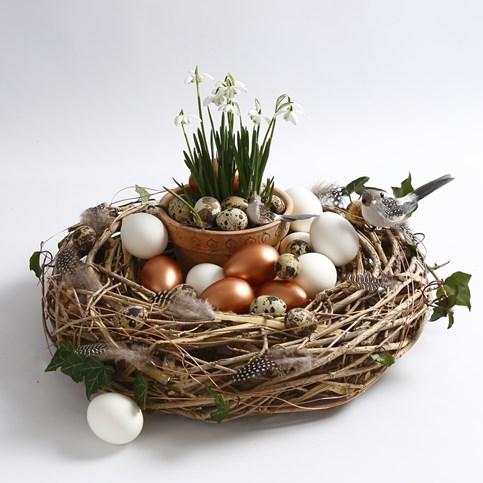 Forårskrans, perfekt til påskepynt
